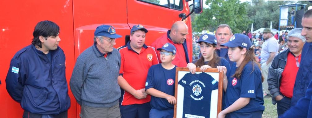 Puan: Encuentro de cadetes de bomberos