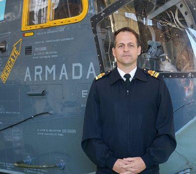 Capitán de Corbeta aviador naval Miguel Augusto Martínez Widmer