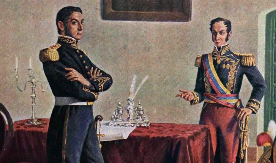 Descubrimos lo que dijo San Martín en el encuentro con Bolívar - Sexta Sección