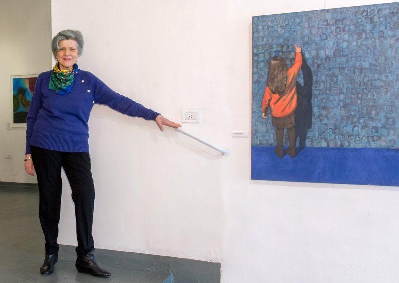 Exposición de pinturas de Ana Godel