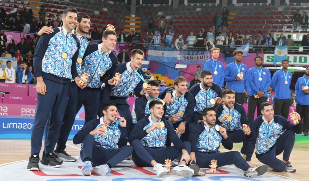 Medalla de oro para Argentina