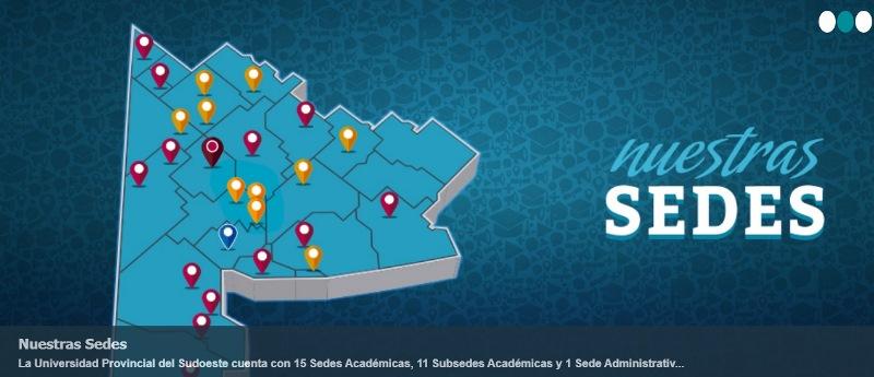 UPSO, Universidad Provincial del Sudoeste.