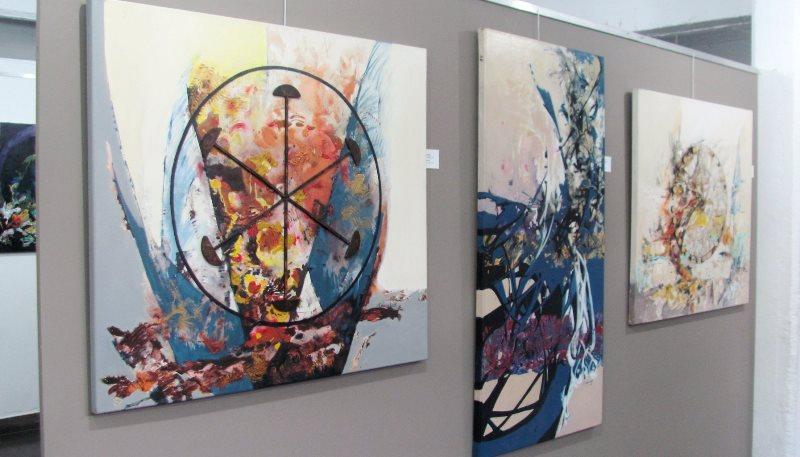 Muestra de pinturas
