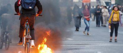 Protestas en Latino América