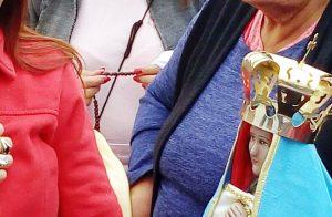 Puan: entronizan a la Virgen del Valle