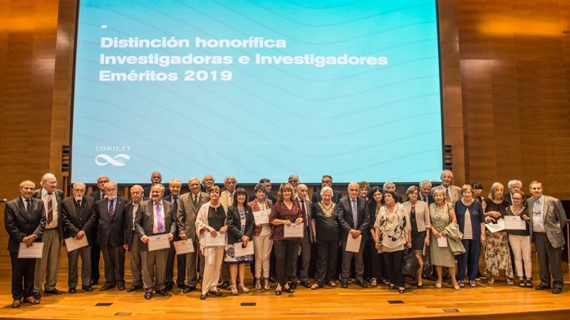 Investigadores y jubilados del CONICET