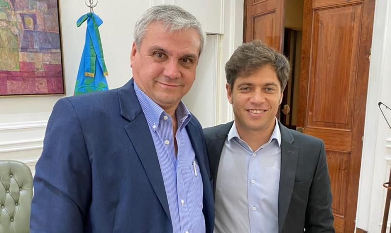 Reunión con el Gobernador