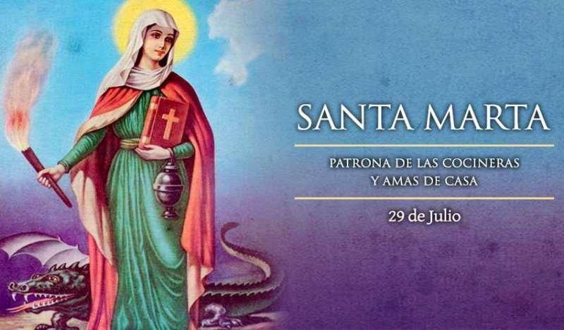 Santa Marta patrona de las cocineras