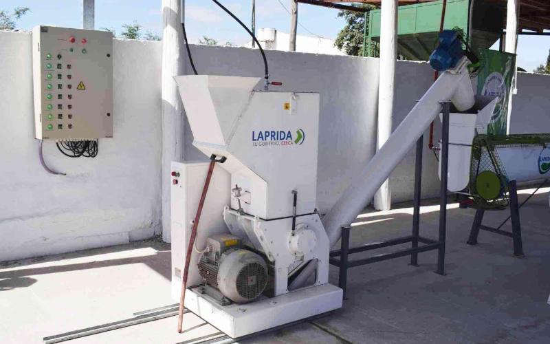 Economía Circular tratamiento de residuos en Laprida