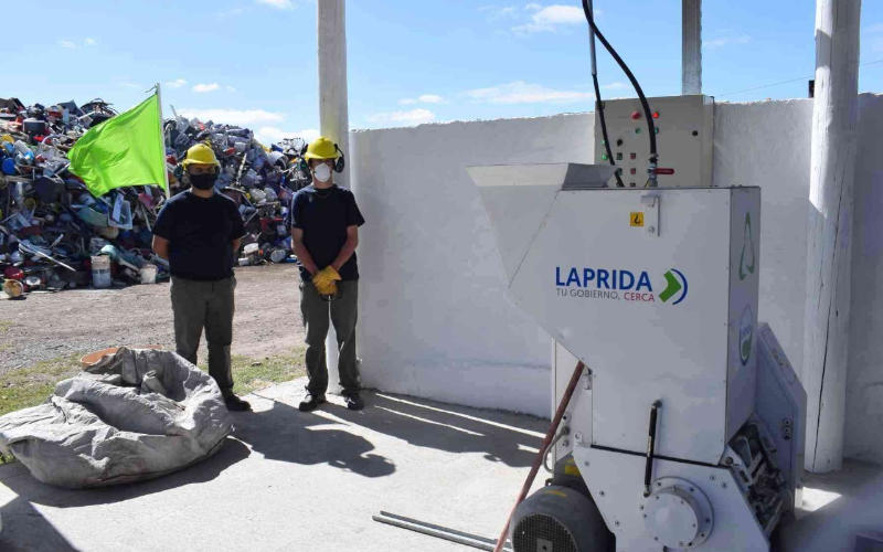 Tratamiento de residuos en Laprida